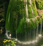 Bigar Waterfall at Carass Severin, Romania.