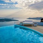 Chromata Hotel in Santorini, Greece.