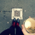 Rankings Lane, outside Brother Baba Budan, lauded for the best coffee in town.